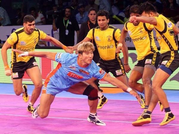 Pro Kabaddi League: Bengal Warriors give the Telugu Titans the beat