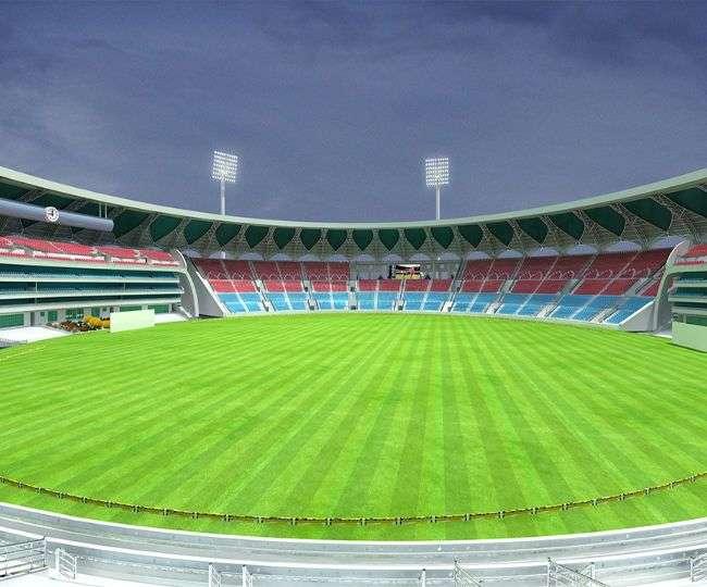 दूसरे टी-20 के लिए तैयार है इकाना स्टेडियम, 24 साल बाद होगा लखनऊ में मैच 1