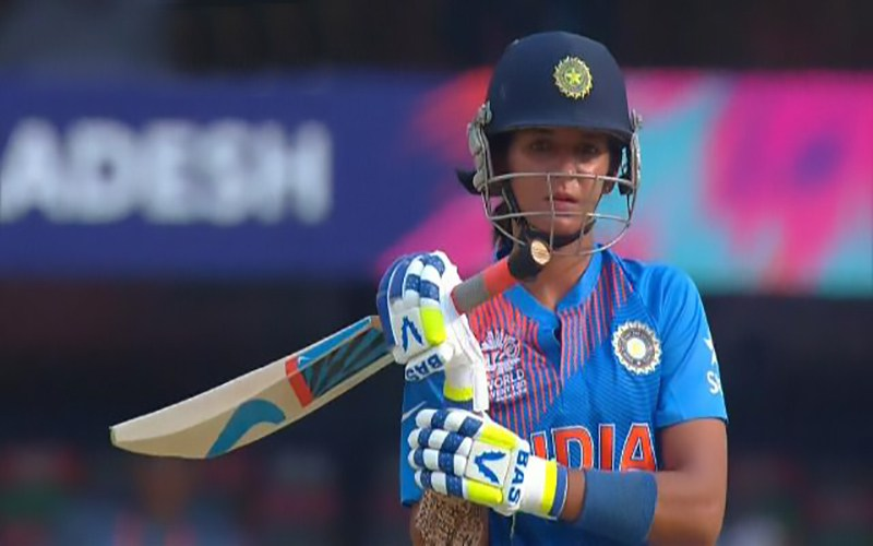 Harmanpreet became the first Indian to score a century in T20