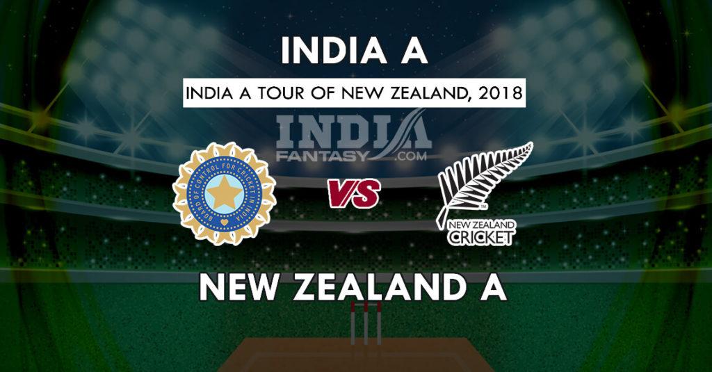 अनाधिकारिक टेस्ट : ड्रॉ हुआ न्यूजीलैंड-ए, इंडिया-ए का मैच