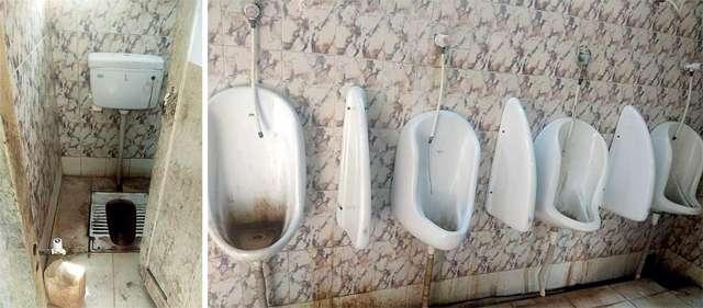 दिल्ली के करनैल सिंह स्टेडियम के टॉयलेट को देख आप कहेंगे, टॉयलेट- एक शेम कथा