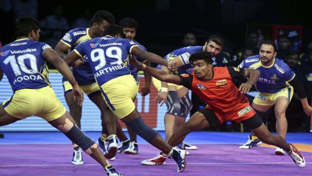 Pro Kabaddi League: Bengaluru defeated Tamil Thalwaj
