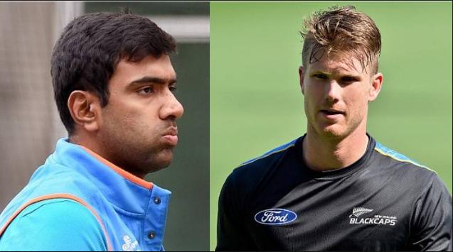 AUSvsIND : भारतीय टीम को मिली हार उधर सोशल मीडिया पर भिड़े जिमी नीशम और रविचंद्रन अश्विन