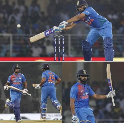 वीडियो : 14वें ओवर की लगातार 2 गेंदों पर रोहित ने जड़े 2 ऐसे छक्के, जिसे देख दर्शक नाचने में हो गये मजबूर