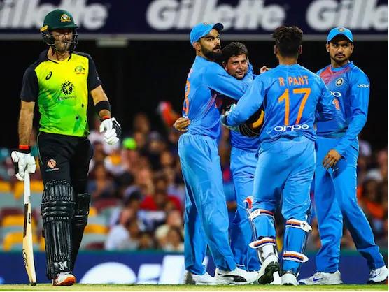 AUSvsIND : बारिश के चलते रद्द हुआ दूसरा टी-20, ऑस्ट्रेलिया 1-0 से आगे