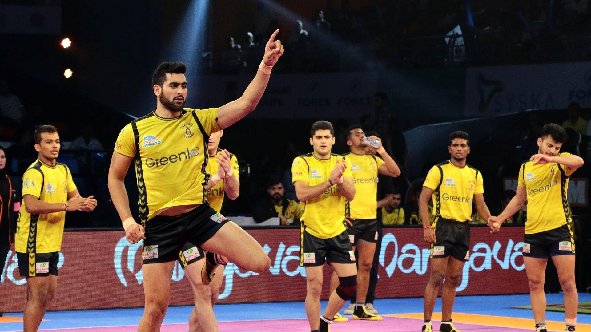 Pro Kabaddi League: Telugu Titans stopped UP warrior at par with