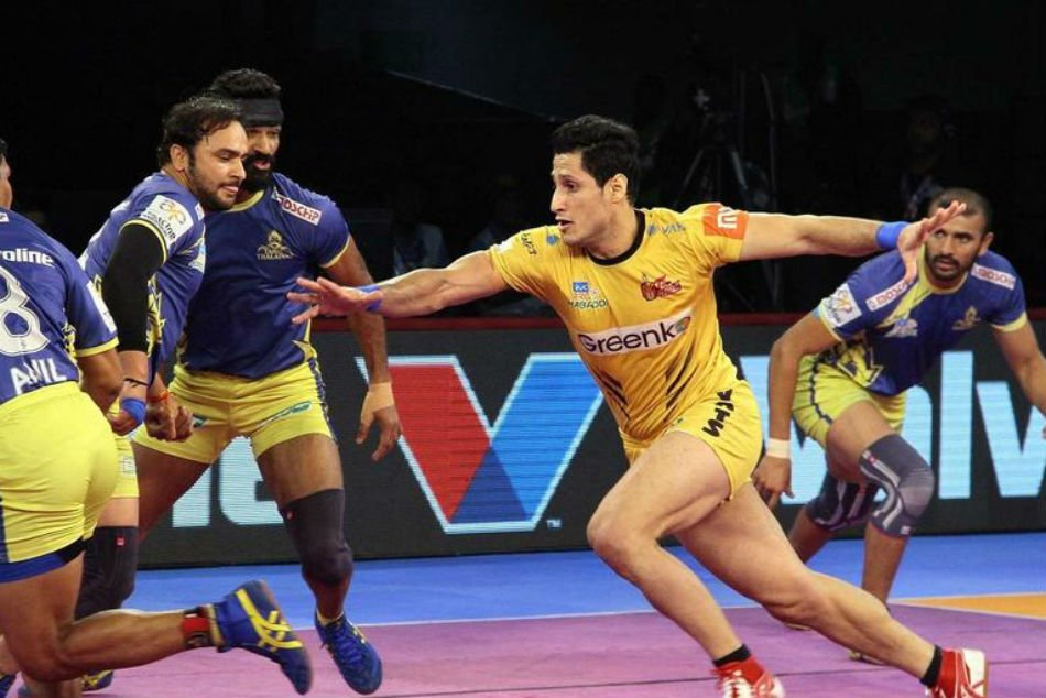 Pro-Kabaddi League: Thalivaj learned titans from 31-25