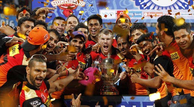 इंडियन प्रीमियर लीग 2016: अंक तालिका 7