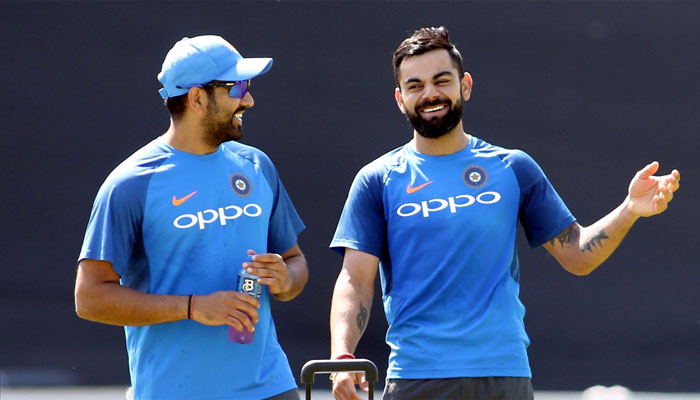 वेस्टइंडीज के खिलाफ शानदार प्रदर्शन के बाद कोहली-रोहित को रैंकिंग में हुआ इतना फायदा