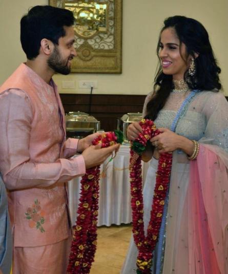 एक-दूजे के हुए साइना नेहवाल और पी. कश्यप, शादी की पहली तस्वीर आई सामने, देखें तस्वीरें 2