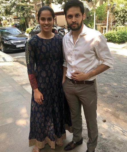एक-दूजे के हुए साइना नेहवाल और पी. कश्यप, शादी की पहली तस्वीर आई सामने, देखें तस्वीरें 5