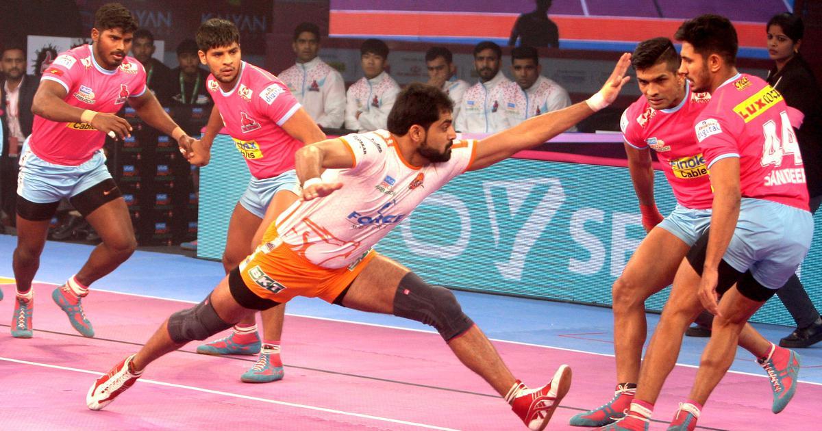 Pro kabaddi league: A winning start in the home leg of Jaipur