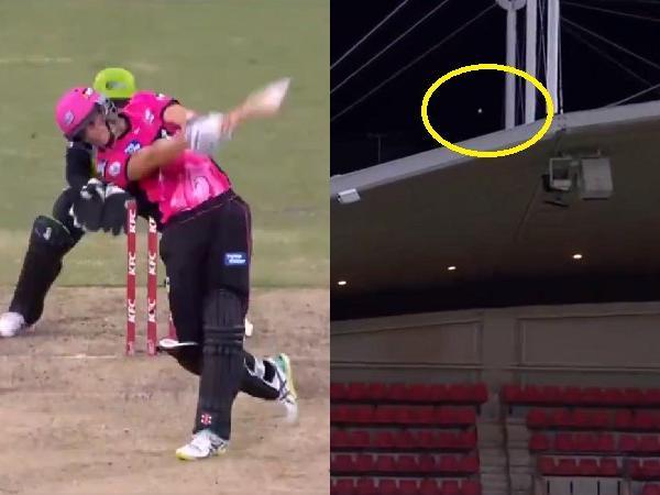 BBL: सीन एबॉट ने जड़ा ऐसा छक्का की सीधे स्टेडियम की छत पर गिरी गेंद, देखें वीडियो 66