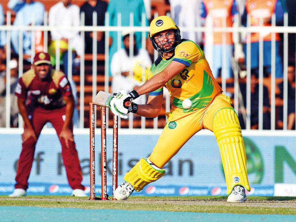 टी-10 क्रिकेट लीग: शाहिद अफरीदी के तूफानी प्रदर्शन के दम पर पख्तून की टीम फाइनल में 2