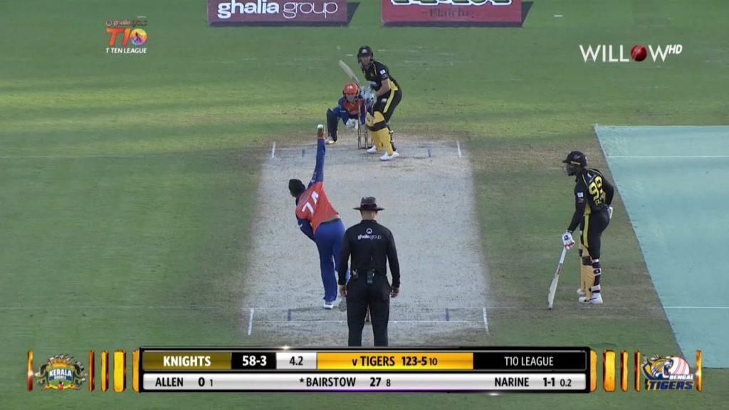 टी-10 लीग: जॉनी बेयरस्टो की इस तूफानी पारी में उड़ा बंगाल टाइगर्स, केरला नाइट्स की शानदार जीत 2