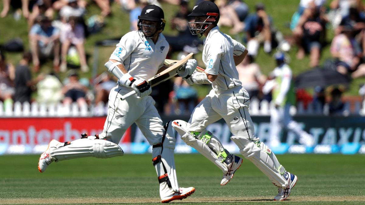 Wellington Test: Latham, New Zealand strong with Taylor's batting