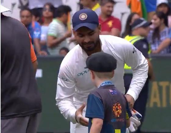 वीडियो : 7 वर्षीय ऑस्ट्रेलिया के उपकप्तान ने कुछ इस अंदाज में दी भारतीय टीम को जीत की बधाई 1