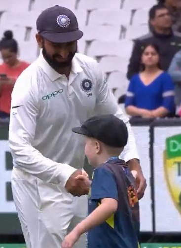 वीडियो : 7 वर्षीय ऑस्ट्रेलिया के उपकप्तान ने कुछ इस अंदाज में दी भारतीय टीम को जीत की बधाई 2