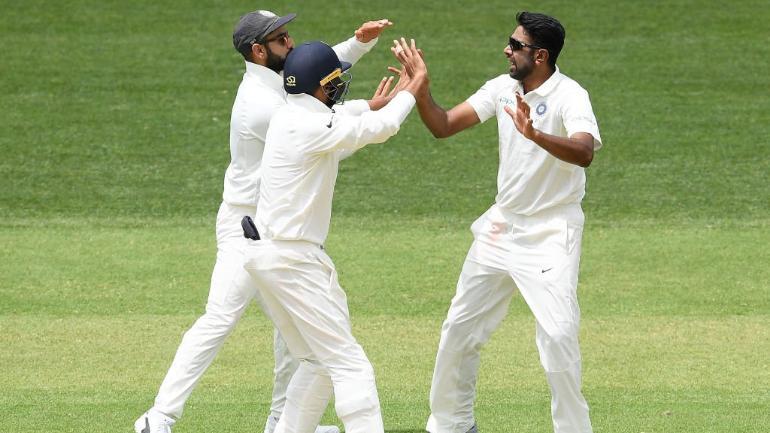 Adelaide Test: Ashwin, Shami push Australia into back-foot