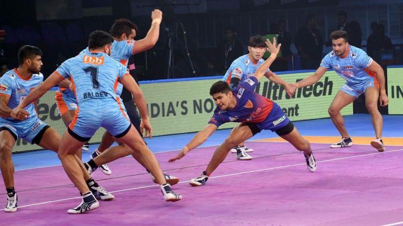 प्रो-कबड्डी लीग : दिल्ली ने बंगाल को हराया, एलिमिनेटर-3 में यूपी से भिड़ेगा