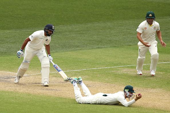 AUSvIND: वीडियो: पहली पारी के बाद दूसरी पारी में भी रोहित शर्मा ने किया सभी को निराश, कट सकता हैं दूसरे टेस्ट से पत्ता 1