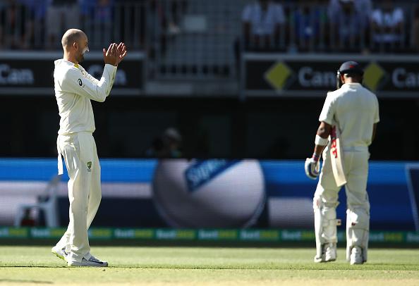 AUSvsIND: विराट कोहली को नाथन लायन ने डाली मिस्ट्री गेंद, लगातार दूसरी बार बनाया शिकार, देखें वीडियो 34