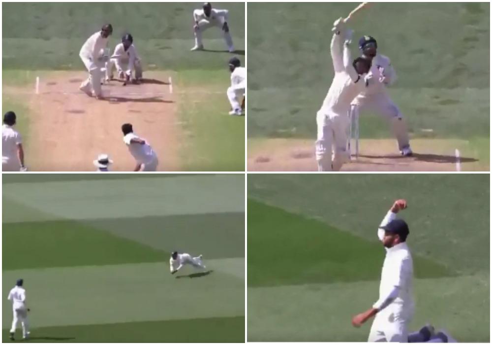 AUSvsIND: वीडियो: 23.2 ओवर में रोहित शर्मा ने लपका शानदार कैच, मैच में भारत ने कसा शिकंजा 39