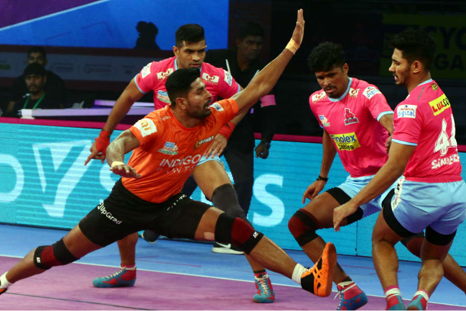 Pro kabaddi league: Tie playing also out of Jaipur playoff