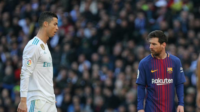 रोनाल्डो ने मेसी को दी बार्सिलोना छोड़ने की चुनौती