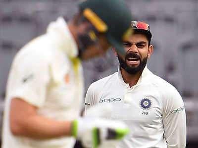 AUSvsIND- विराट कोहली ने टीम पेन से कहा, 'मैं दुनिया का सर्वश्रेष्ठ बल्लेबाज, तुम हो एक स्डेंड इन कैप्टन' : ऑस्ट्रेलियाई मीडिया 3