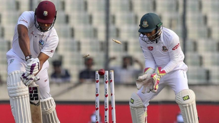 BANvsWI- बांग्लादेश के खिलाफ वेस्टइंडीज ने बनाया 128 साल बाद ये अनचाहा रिकॉर्ड 5
