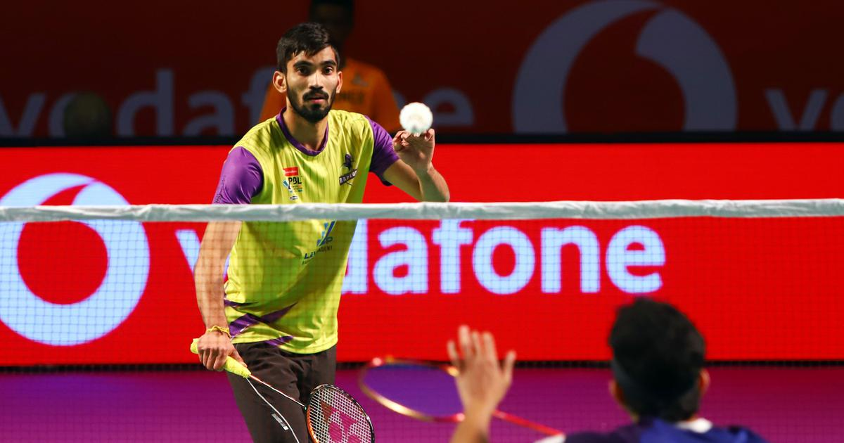 पीबीएल-4 : श्रीकांत ने बेंगलुरू की दिलाई जीत