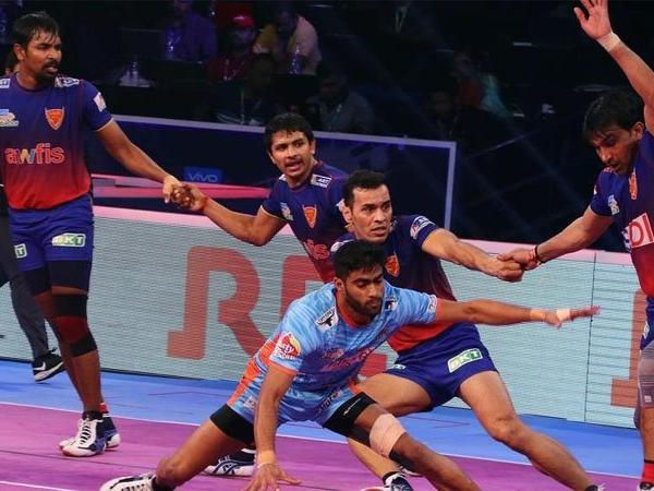 प्रो-कबड्डी लीग : यूपी ने दिल्ली को हराया, क्वालीफायर-2 में गुजरात से भिड़ेगी