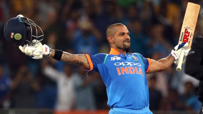 Dhawan, the second Indian to make the fastest ODI run