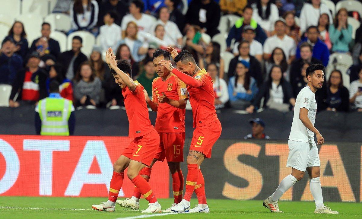 एएफसी एशियन कप : नॉकआउट राउंड में पहुंचे चीन, द. कोरिया