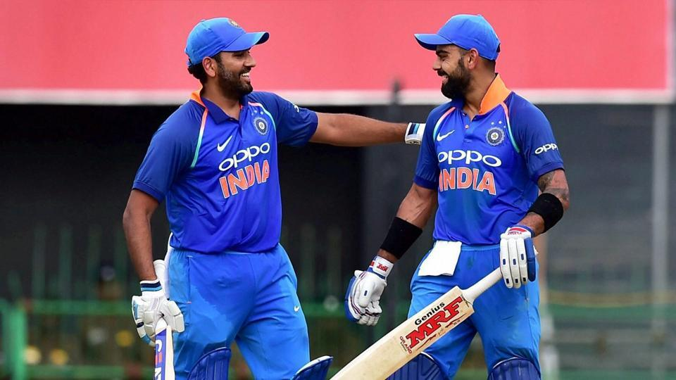 India vs Australia- वीडियो: रोहित शर्मा ने खेला ये अनोखा शॉट, देखने लायक था सामने खड़े विराट कोहली का रिएक्शन 2