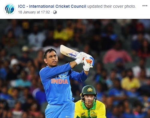 आईसीसी के कवर फोटो में मिली महेंद्र सिंह धोनी को जगह, लोगों ने ऐसे व्यक्त की खुशी 1