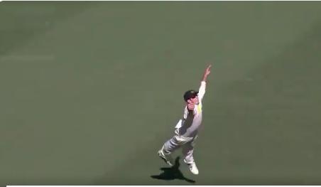 वीडियो : कुर्टिस पैटरसन ने हवा में उछलकर पकड़ा क्रिकेट इतिहास के सर्वश्रेष्ठ कैचो में से एक 1