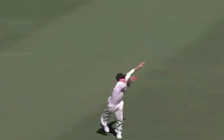 वीडियो : कुर्टिस पैटरसन ने हवा में उछलकर पकड़ा क्रिकेट इतिहास के सर्वश्रेष्ठ कैचो में से एक 2