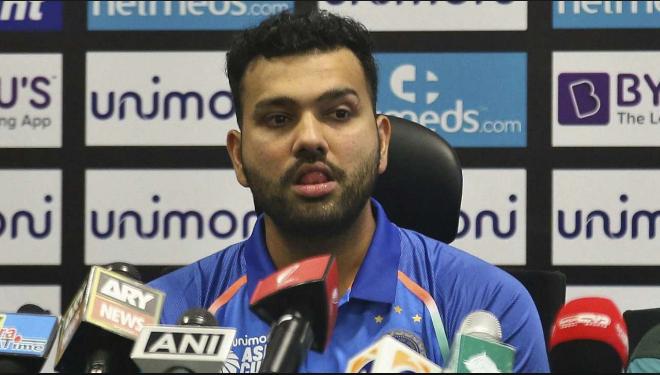 INDvsNZ : भारतीय टीम की हार का जिम्मेदार रोहित शर्मा ने इन खिलाड़ियों को बताया 1