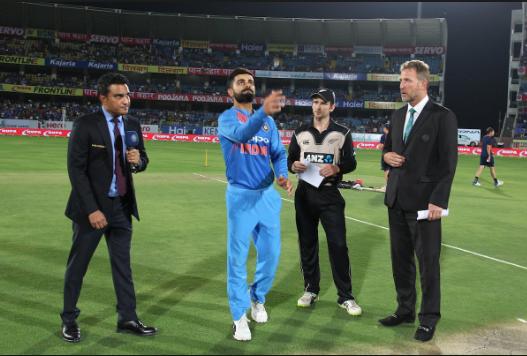 NZvsIND : टॉस रिपोर्ट: न्यूज़ीलैंड ने टॉस जीता पहले बल्लेबाजी का फैसला, दिग्गज भारतीय खिलाड़ी हुआ बाहर 3