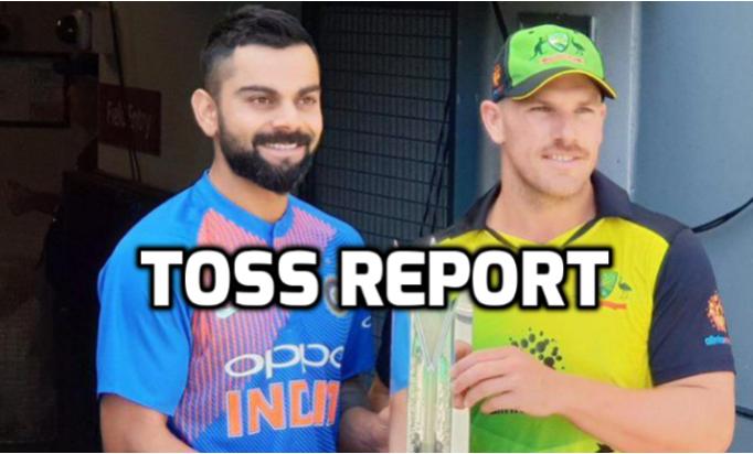 AUSvsIND : टॉस रिपोर्ट : ऑस्ट्रेलिया ने टॉस जीता पहले बल्लेबाजी का फैसला, भारत ने इन 11 खिलाड़ियों को दी जगह