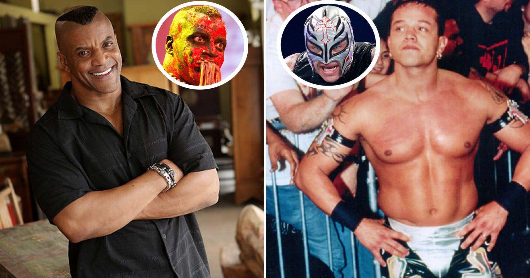 क्या आपने कभी सोचा है कि नकाब के पीछे कैसा दिखता है इन WWE रैसलरों का असली चेहरा