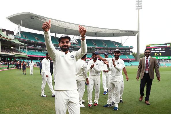 AUSvsIND- सीरीज जीत के पूर्व कप्तान सौरव गांगुली ने भारतीय टीम के खिलाड़ियों को दी बधाई