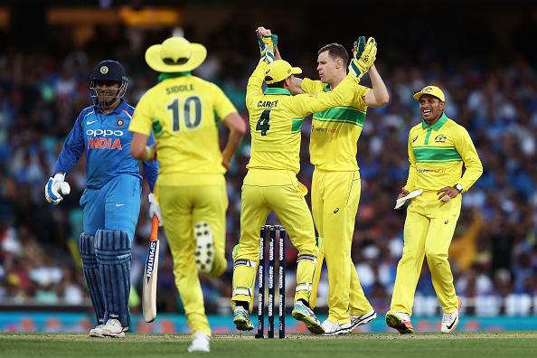 AUSvsIND, सिडनी वनडे: जीत के बाद खुश दिखे आरोन फिंच, बताया क्यों भारत के सामने की धीमी शुरुआत 3