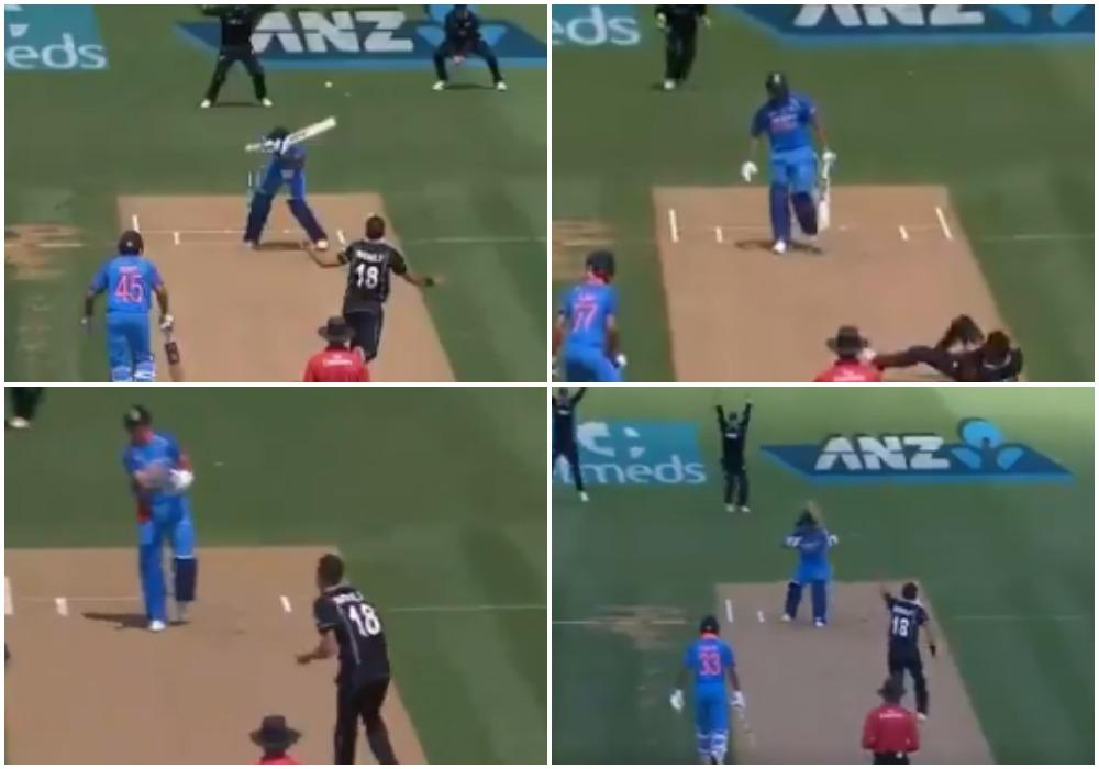 वीडियो: ट्रेंट बोल्ट ने एक के बाद एक 5 भारतीय बल्लेबाजों को भेजा पवेलियन, देखने लायक था भारतीय कप्तान का रिएक्शन