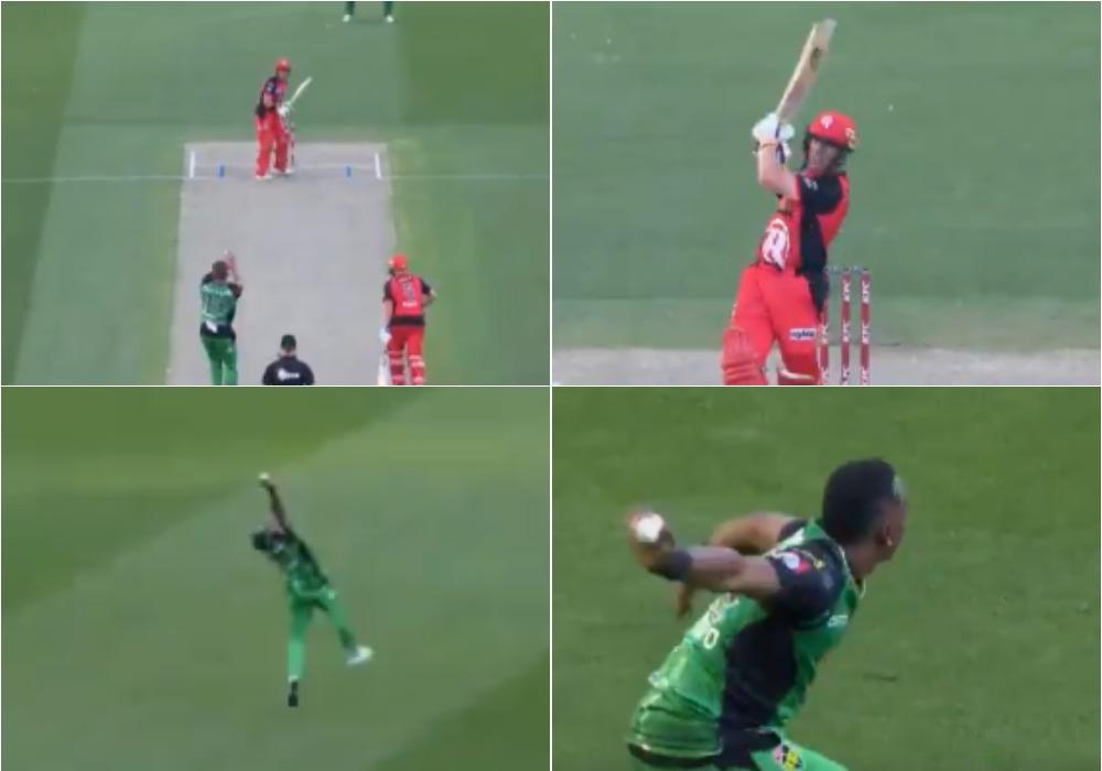वीडियो: ड्वेन ब्रावो ने फिर किया साबित कि वही हैं क्रिकेट के असली सुपरमैन