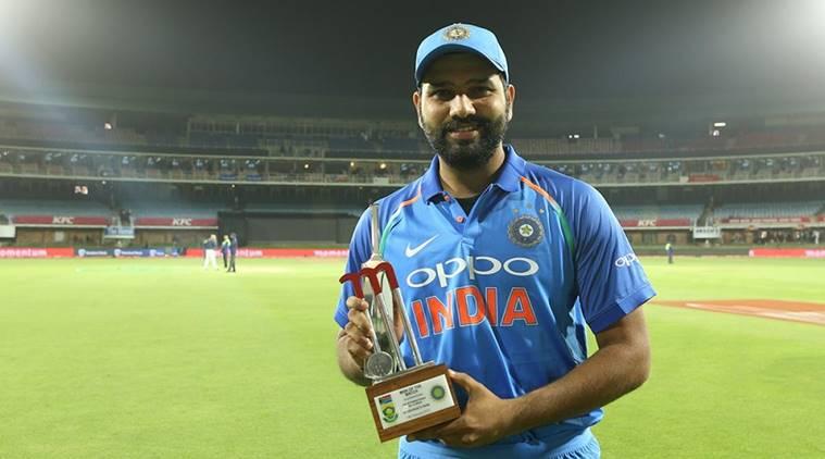 रोहित शर्मा सेना देशों में सचिन और कपिल देव के बाद मैन ऑफ द मैच बनने वाले तीसरे भारतीय 2