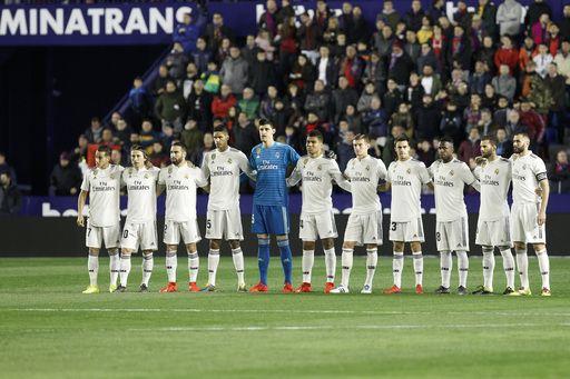 स्पेनिश लीग : रियल मेड्रिड ने लेवांते को 2-1 से मात दी