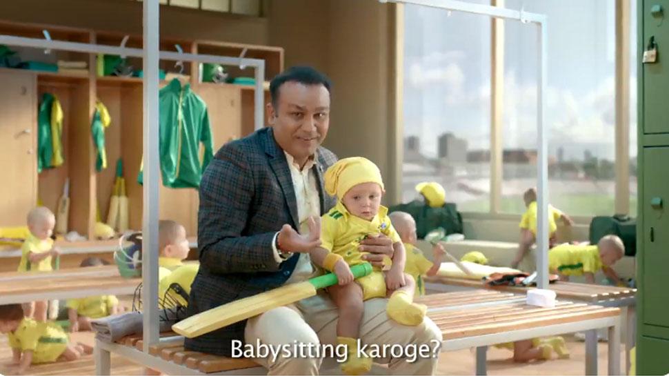 भारतीय विकेटकीपर ऋषभ पंत ने वीरेंद्र सहवाग के बेबीसिटर ऐड पर किया ट्वीट, मजाकिया अंदाज में कहा... 1